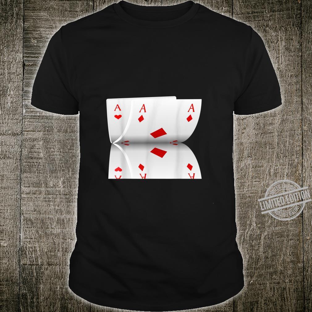 Kostüm Spielkarten Design Shirt