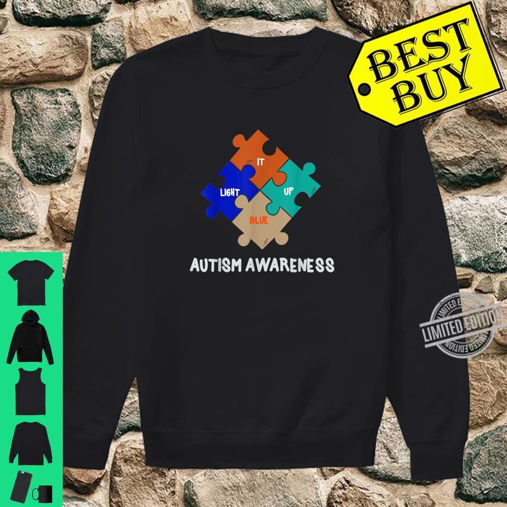 LIGHT IT UP BLUE Autism Awareness Day Shirt sweater