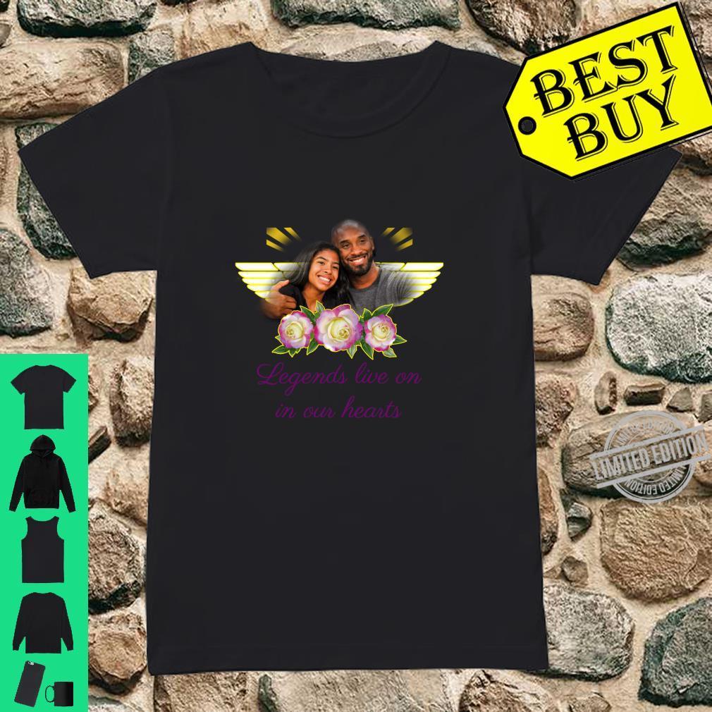 Legends Live On Shirt ladies tee