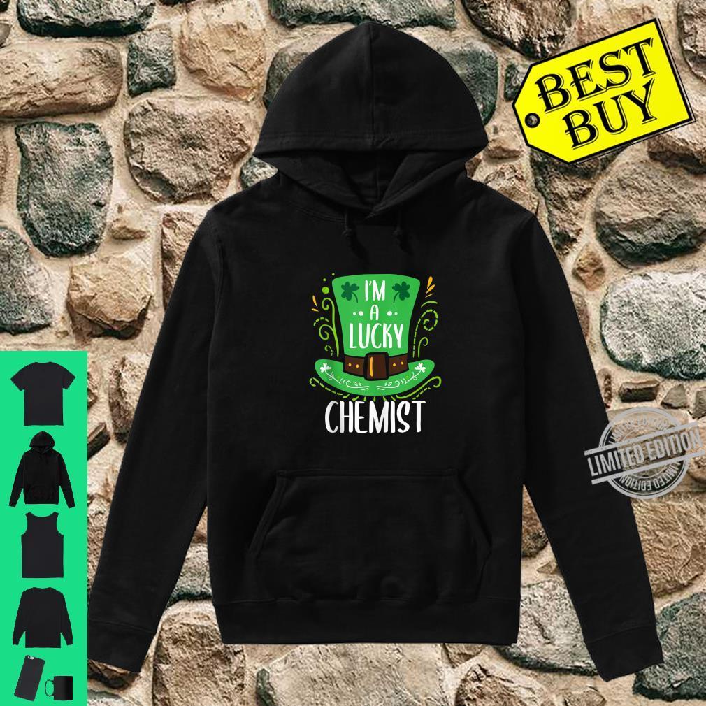 Lucky Chemist St. Patrick's Day Chemists Shirt hoodie