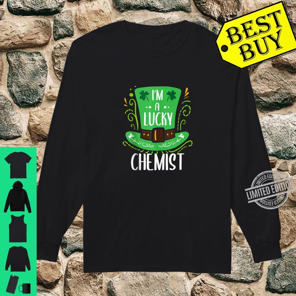 Lucky Chemist St. Patrick's Day Chemists Shirt long sleeved