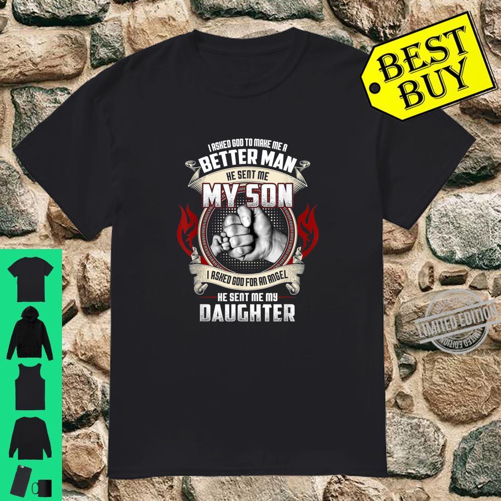 Matching Proud Dad Birthday Fist Bump Fathers Day Shirt
