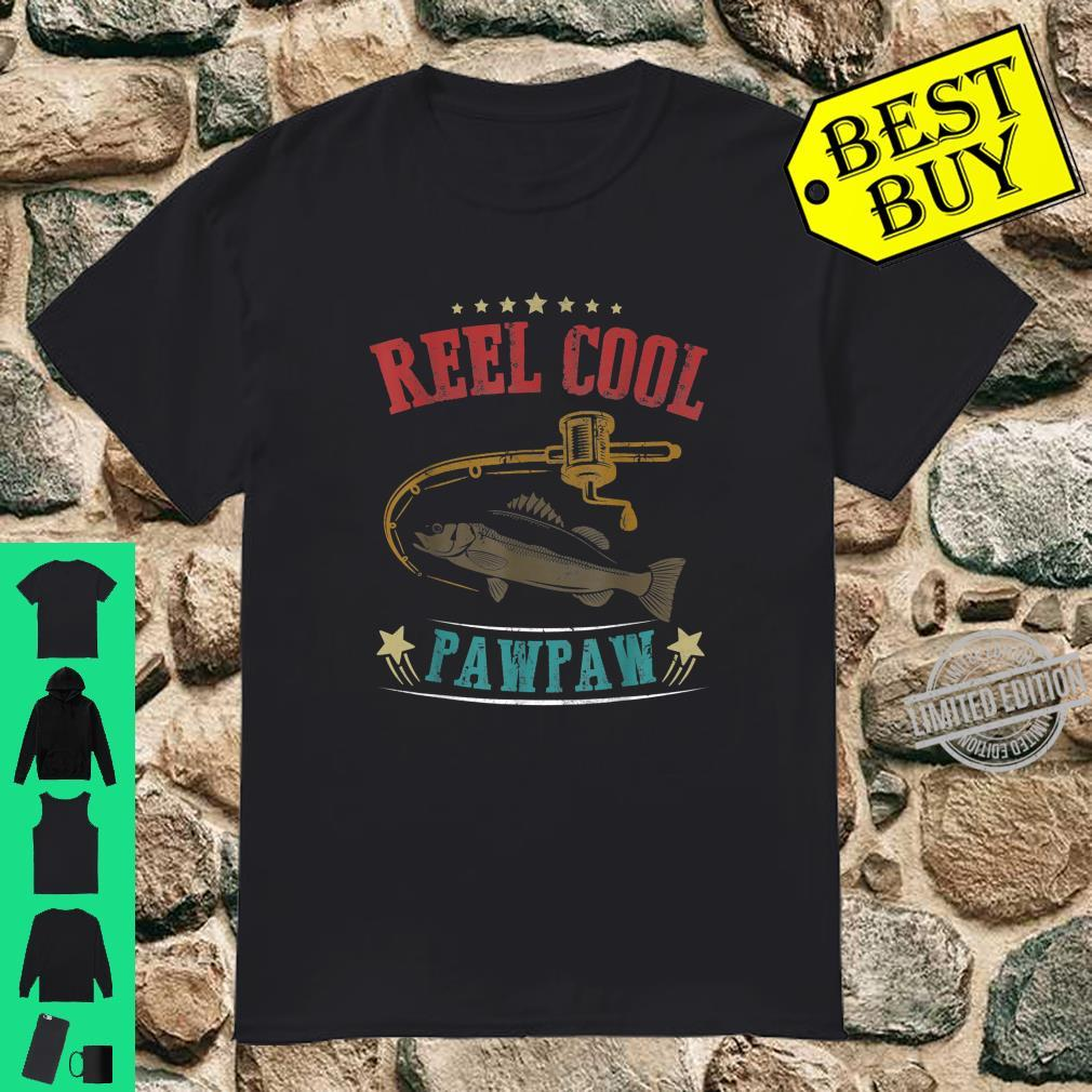 Mens Vintage Reel Cool Pawpaw Fish Fishing Father's Day Shirt
