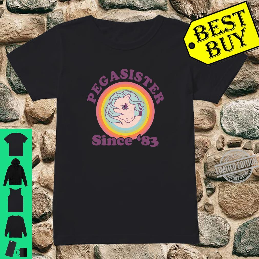 My Little Pony Pegasister Since '83 Retro Shirt ladies tee