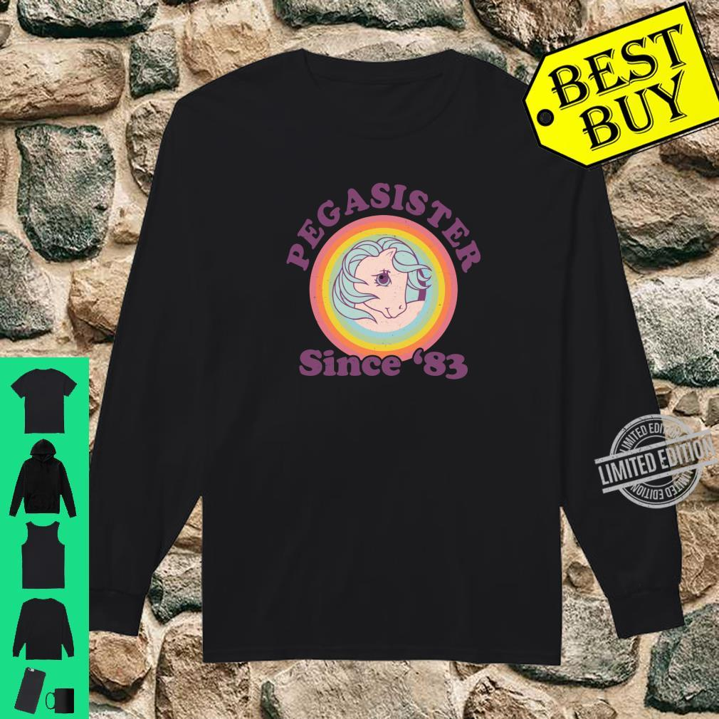 My Little Pony Pegasister Since '83 Retro Shirt long sleeved