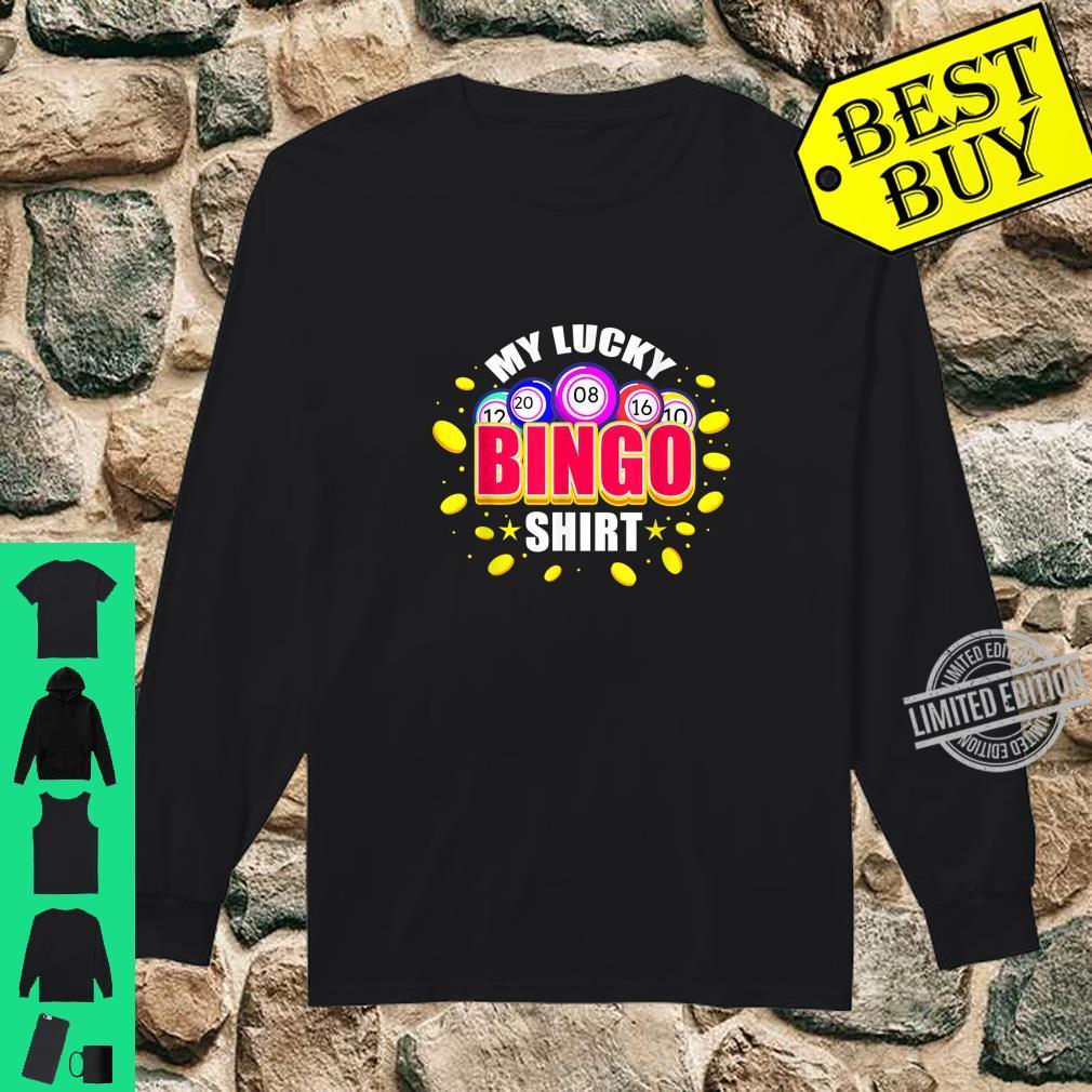 My Lucky Bingo Shirt long sleeved