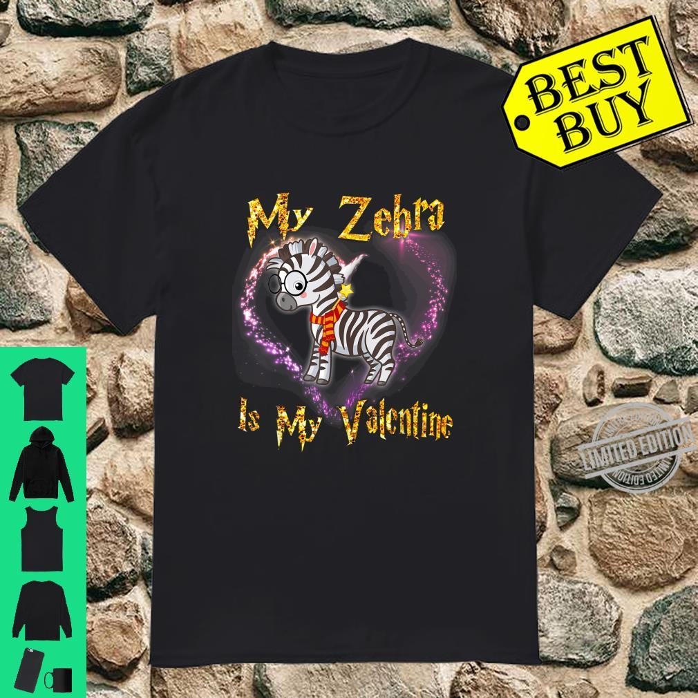 My Zebra is My Valentine Shirt