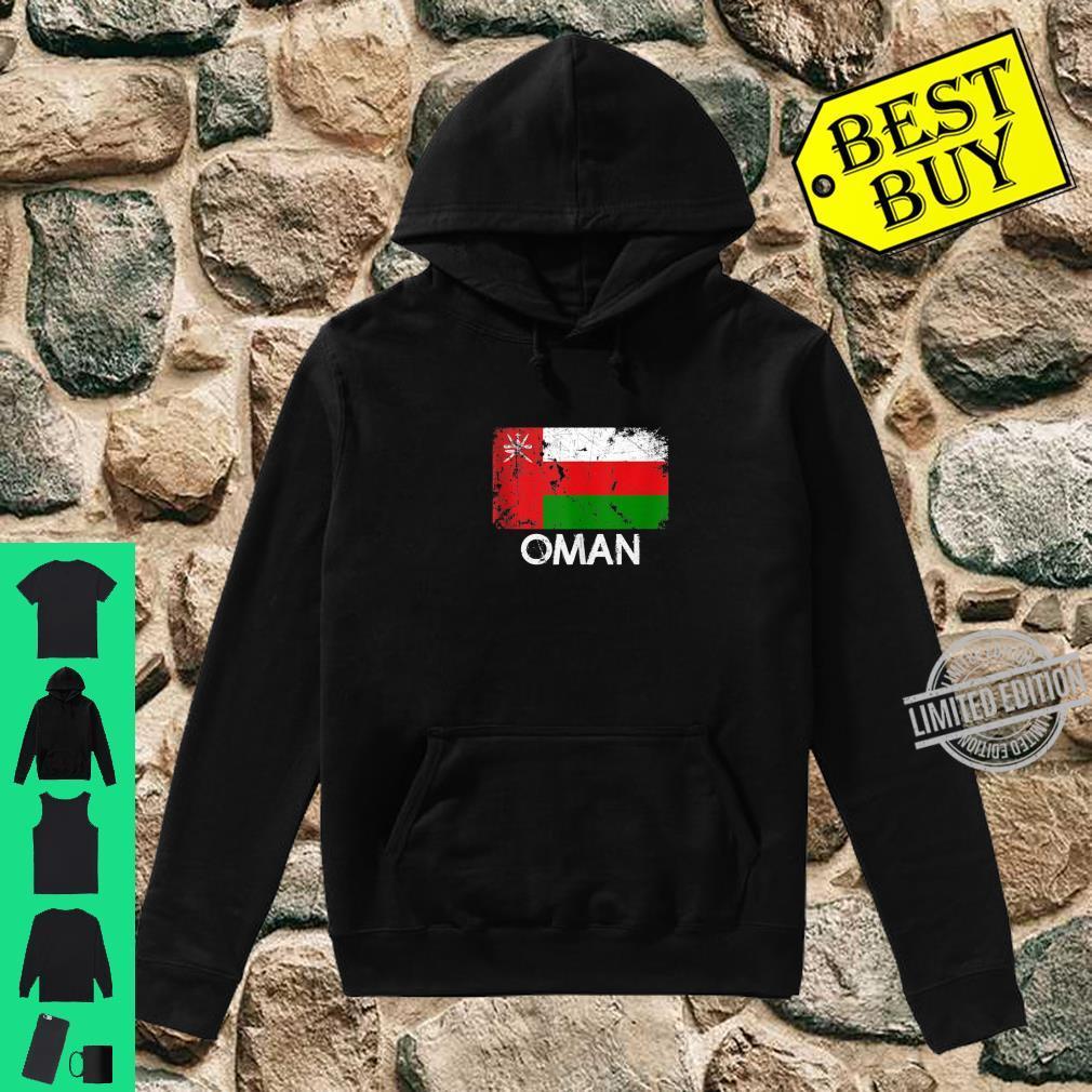 Omani Flag Vintage Made In Oman Shirt hoodie