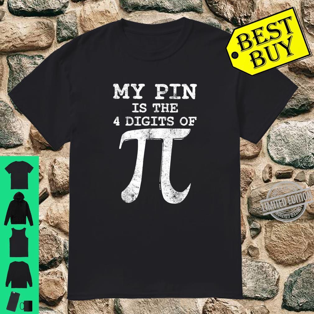 Pi Math Day Math Mathematician Teacher Student Vintage Shirt