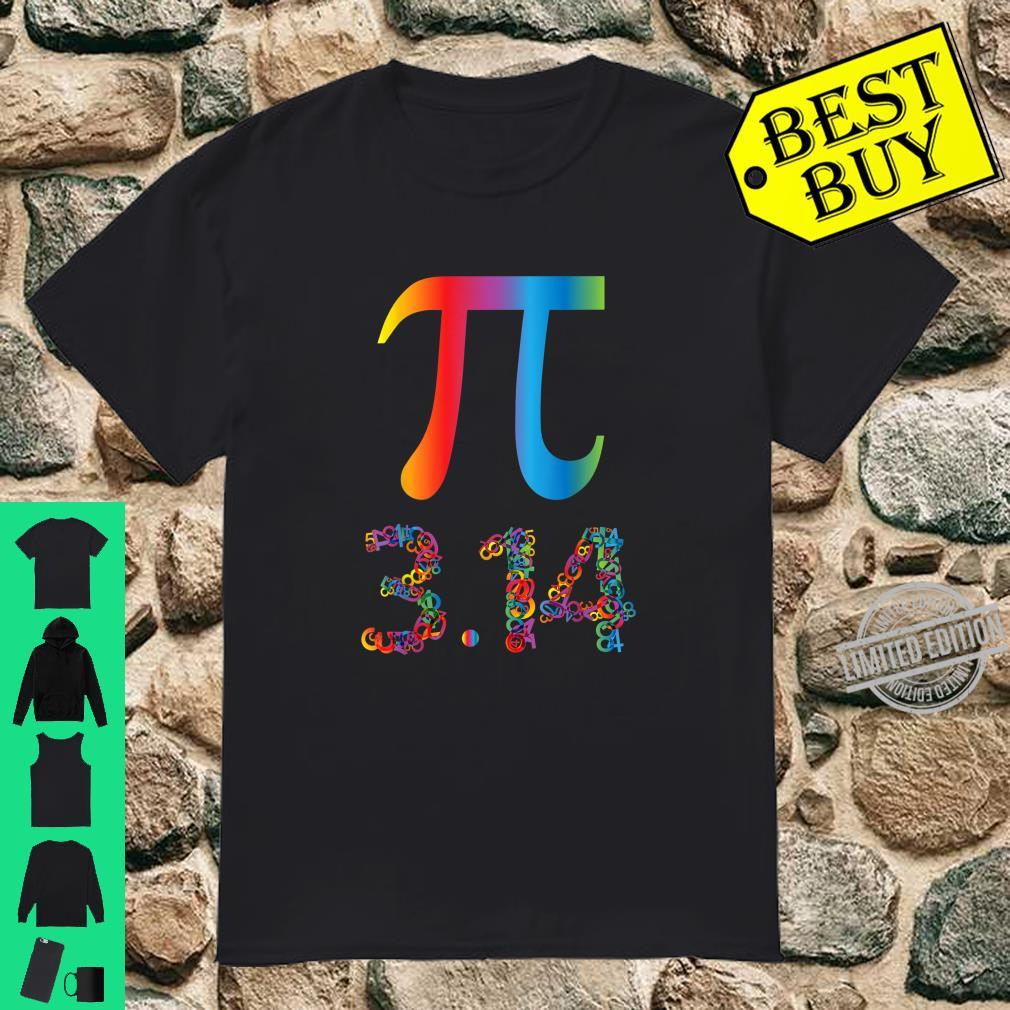 Pi day math teacher Shirt