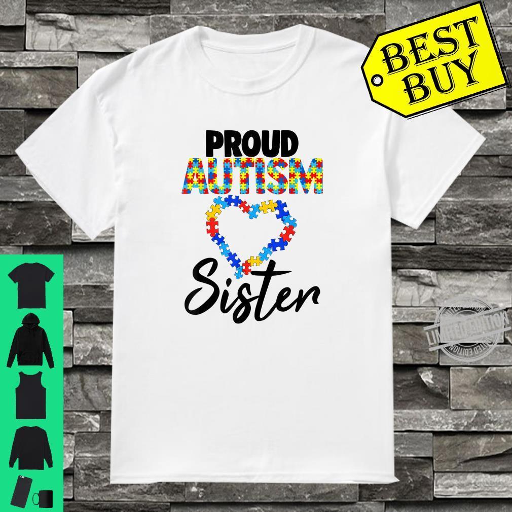 Proud Autism Sister Shirt Autism Awareness Shirt
