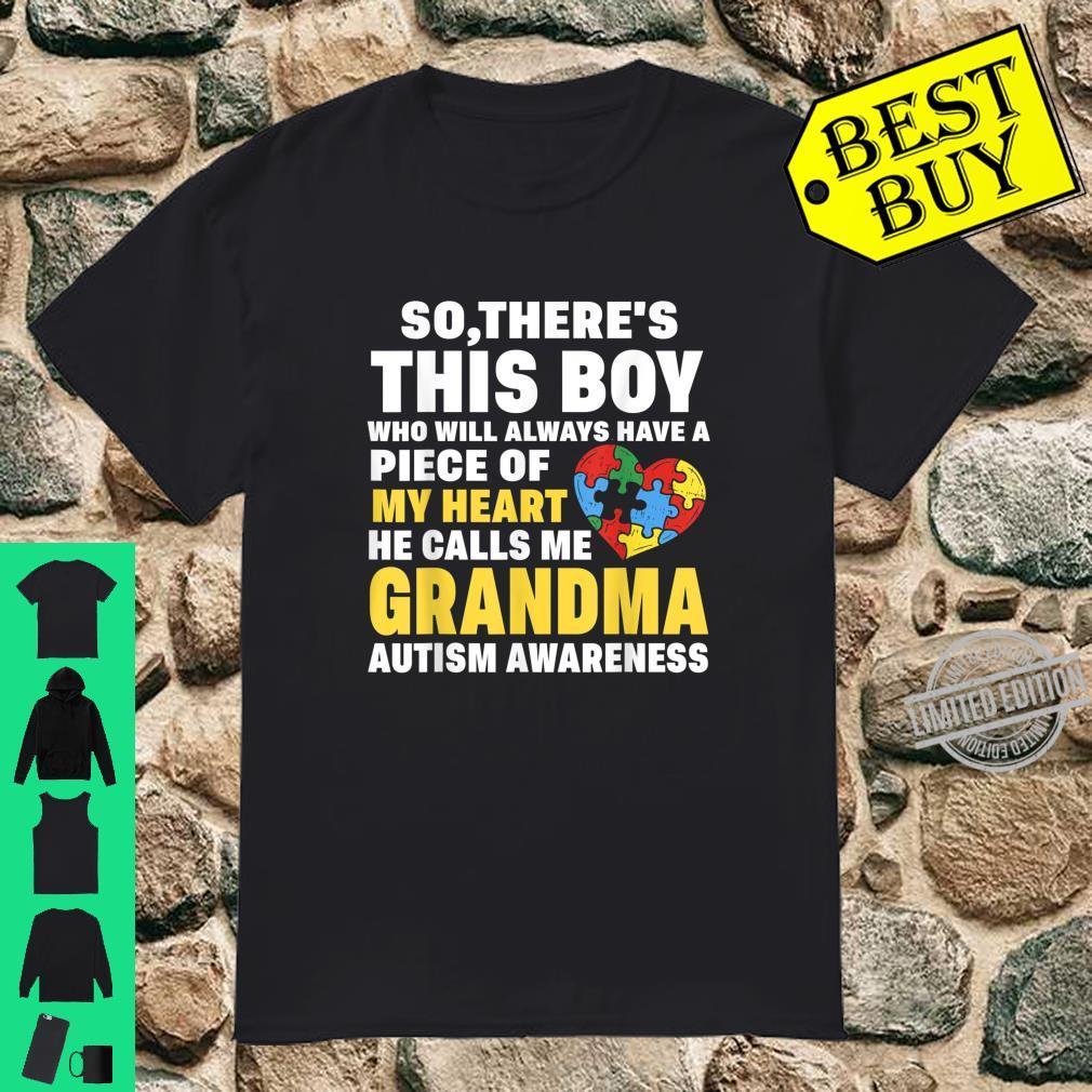 Retro There's This Boy He Calls Me Grandma Ideas Shirt