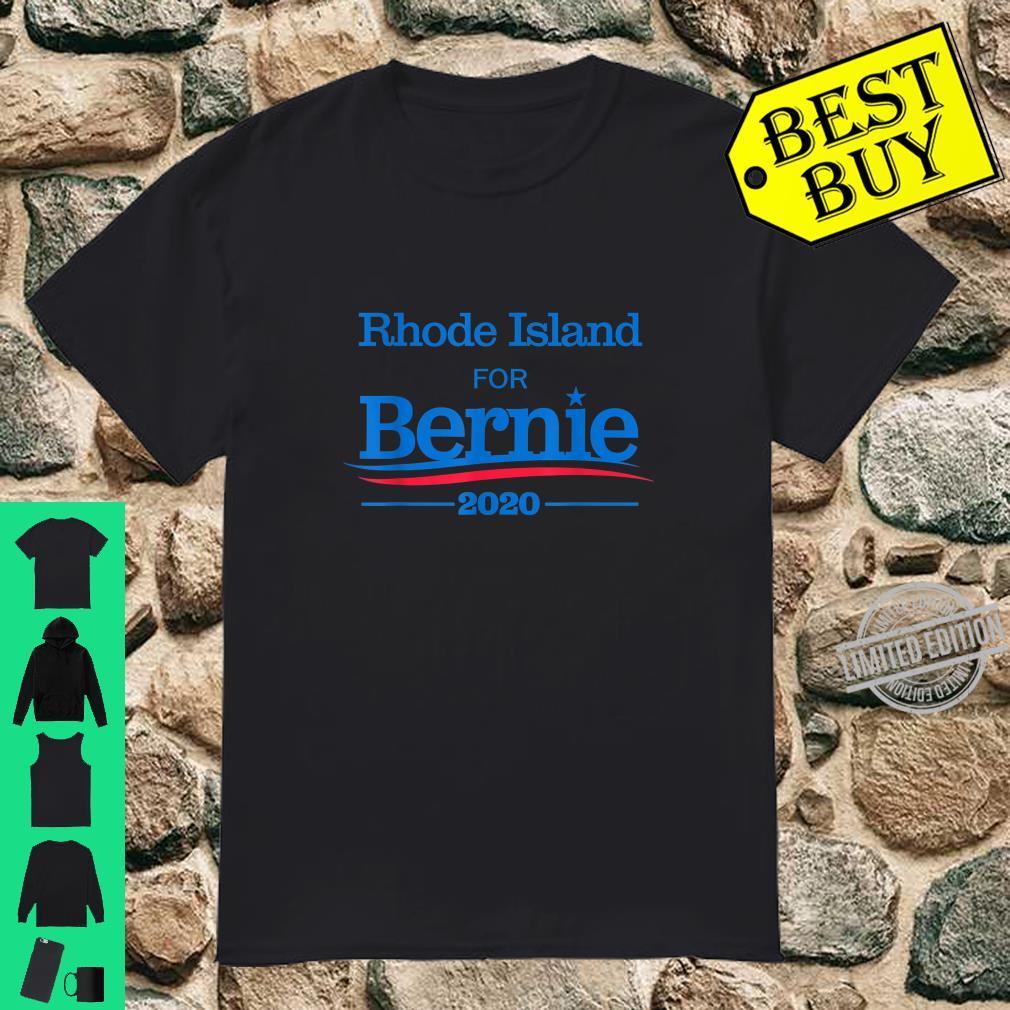 Rhode Island text Ladies T-Shirt