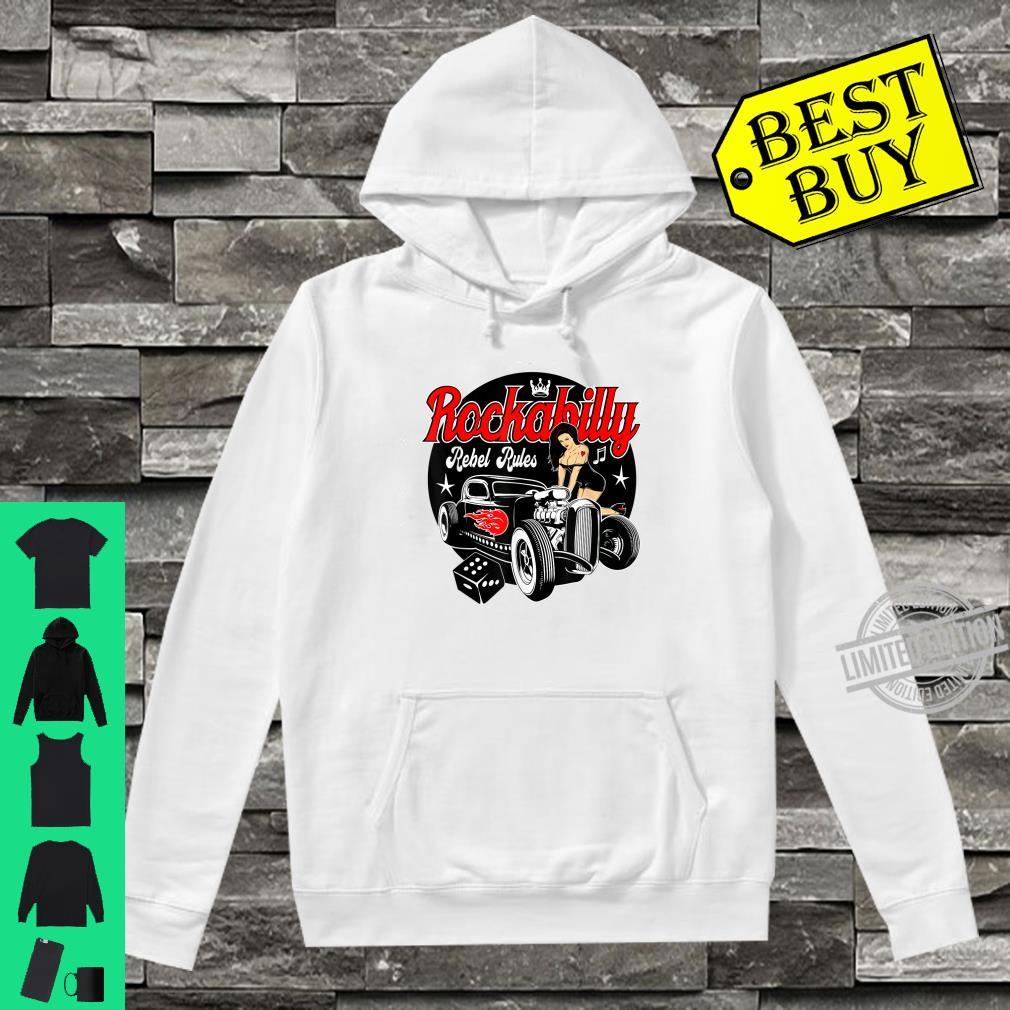 Rockabilly Hotrod Classic Car Shirt Sock Hop Clothes Rocker Shirt hoodie