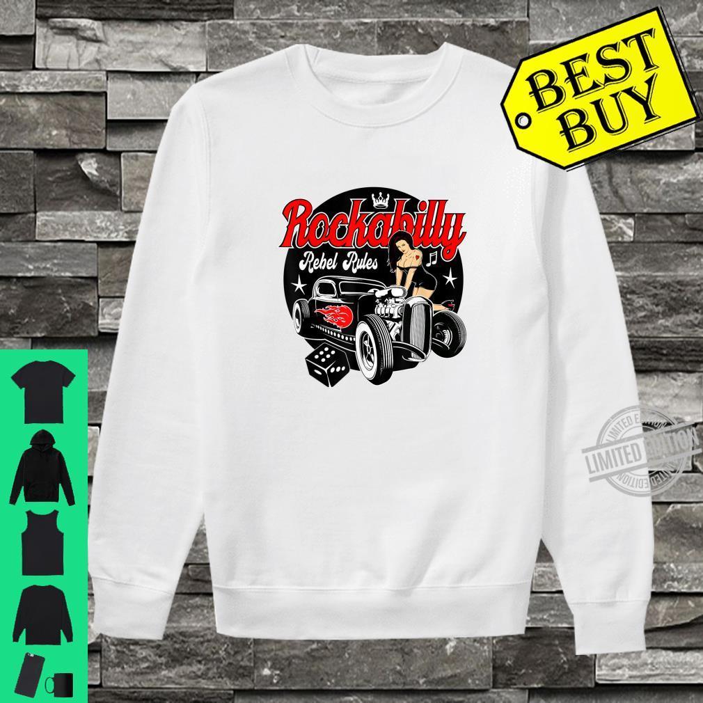 Rockabilly Hotrod Classic Car Shirt Sock Hop Clothes Rocker Shirt sweater