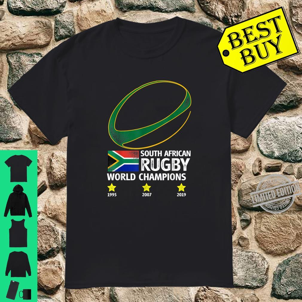 South African Rugby Bokke Triple World Champions 2019 Shirt