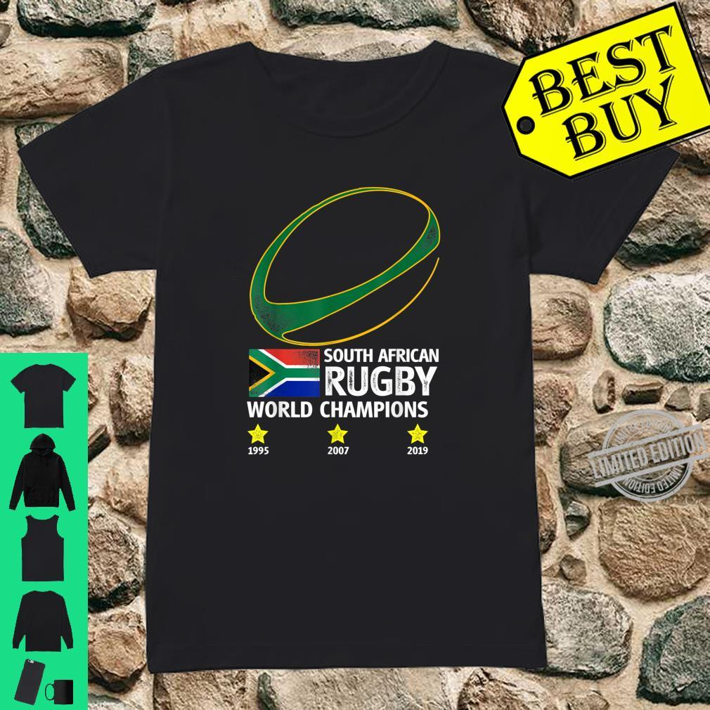 South African Rugby Bokke Triple World Champions 2019 Shirt ladies tee