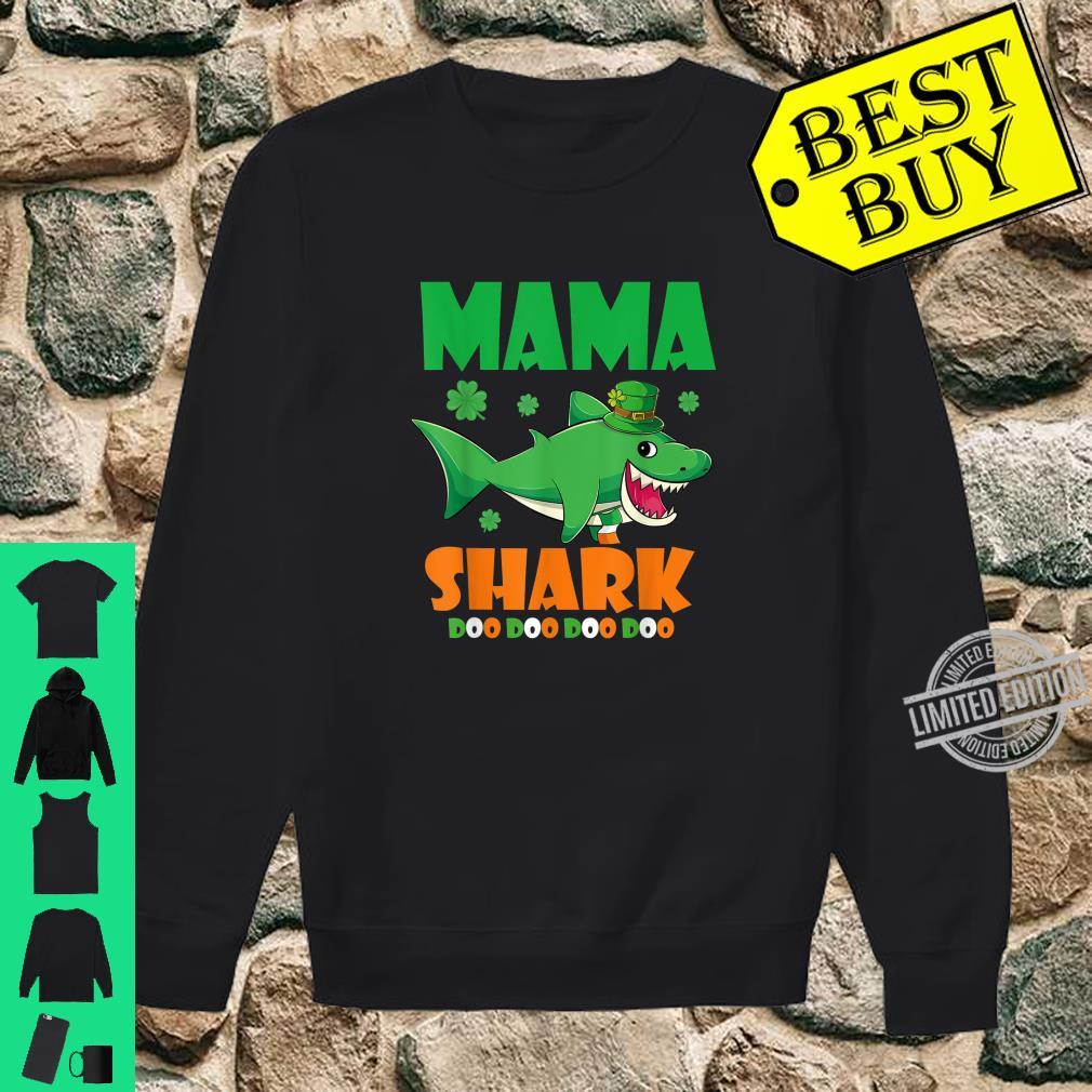 St Patricks Day Mama Shark Shirt sweater