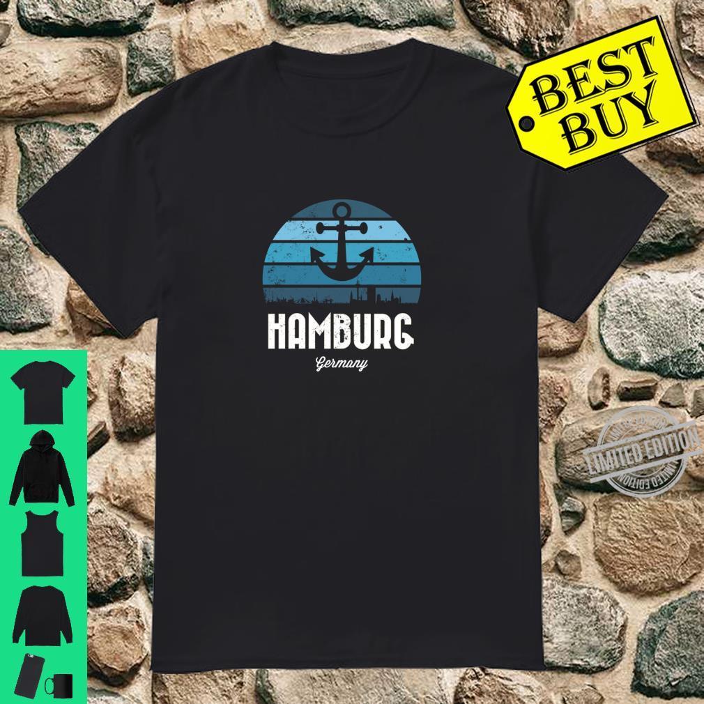 Stadt Hamburg Geschenk für echte Nordlichter und Hamburger Shirt