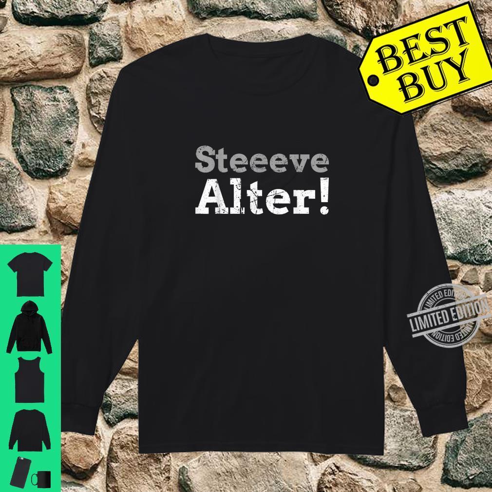 Steve, Alter Shirt long sleeved