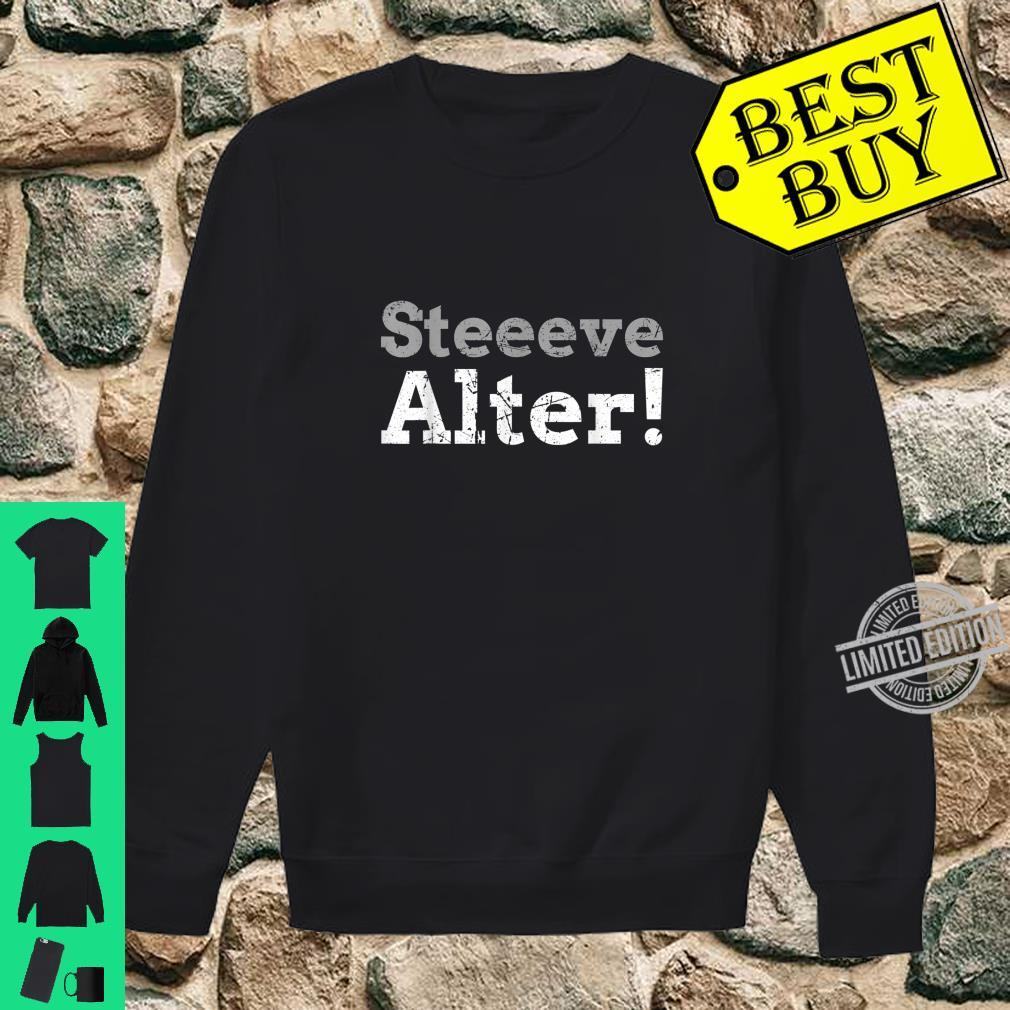 Steve, Alter Shirt sweater
