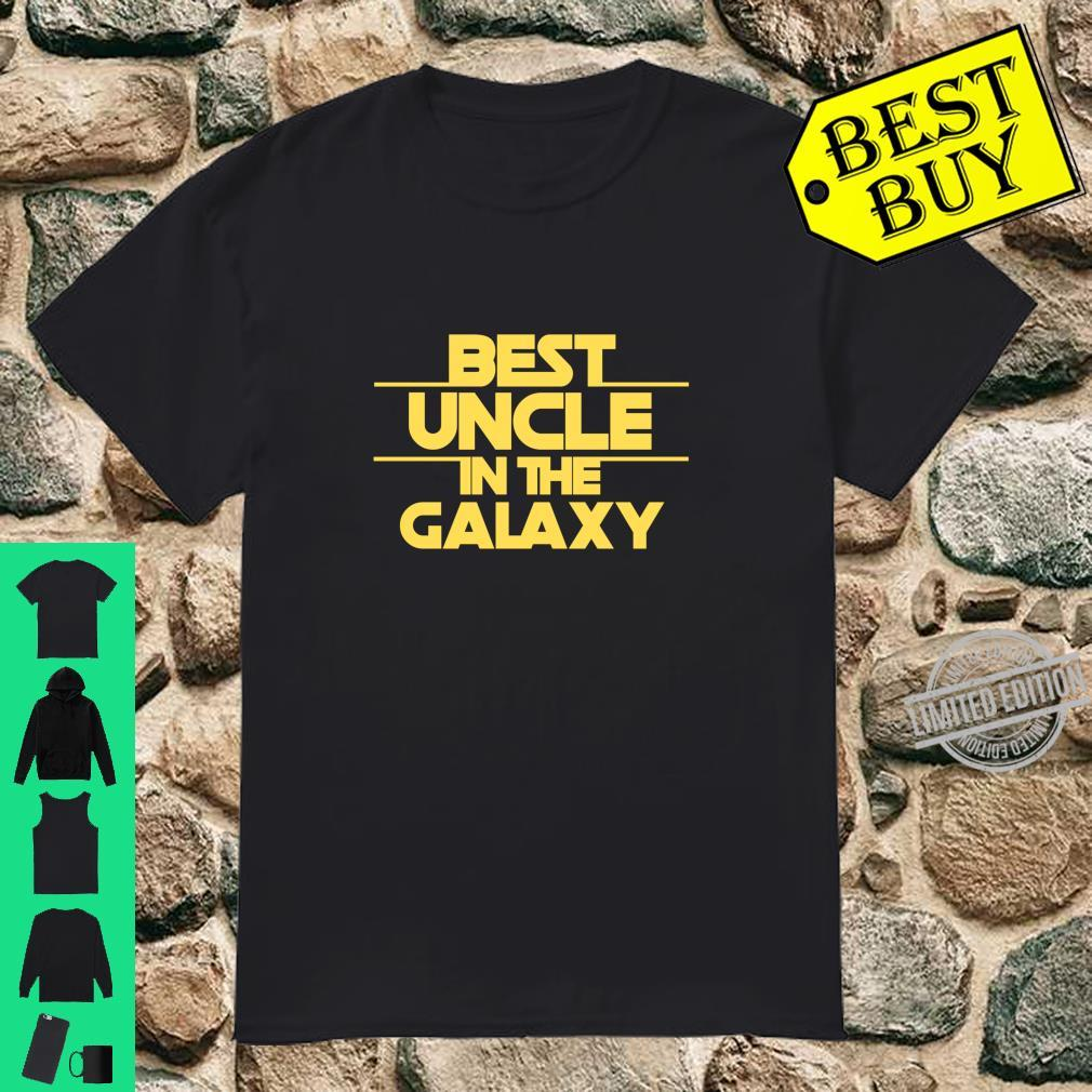 Uncle Gift, Best Uncle Best Uncle In The Galaxy Shirt