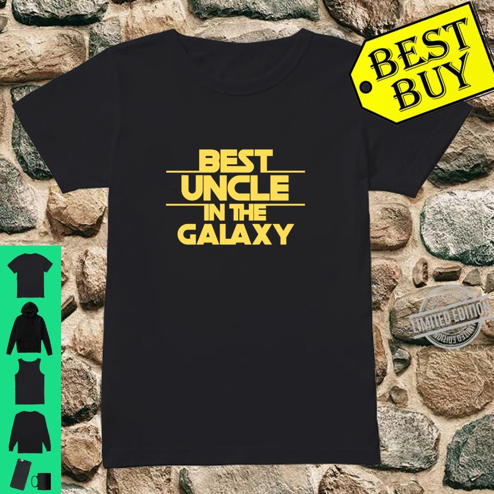 Uncle Gift, Best Uncle Best Uncle In The Galaxy Shirt ladies tee