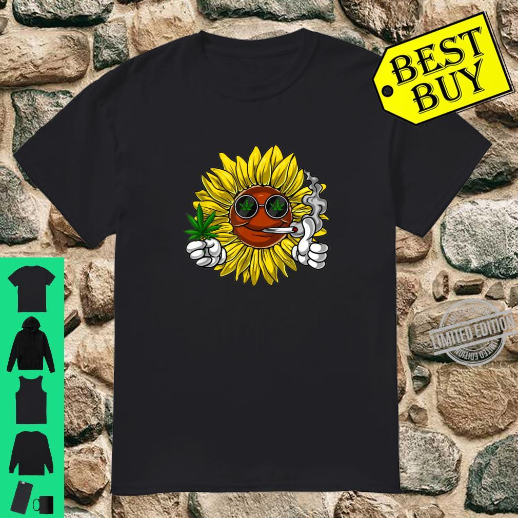 You Are My Sunshine Sunflower Weed Shirt